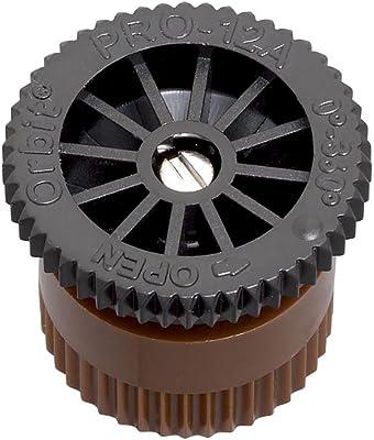 Orbit 53583 Adjustable Arc Sprinkler Spray Head Nozzle, 12-Feet, Pack of 12