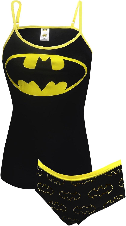 WebUndies  DC Comics Batman Womens Cami & Panty Set