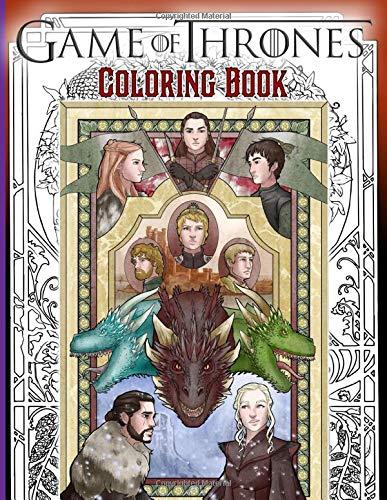 Game Of Thrones Coloring Book: The Color Wonder An