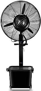 Jyfsa Soplador de Ventilador de fábrica Ventilador Industrial Ventilador de nebulización móvil con Tanque de Agua Alto Voltaje Ventilador eléctrico Tienda Comercial