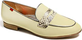 Genuine Leather Made in Brazil Womens Bryant Park 2.0 Loafer, Yellow Nappa Soft/Viper, 9 US