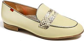 جلد أصلي مصنوع في يل حذاء Bryant Park 2.0 بدون كعب أصفر نابا ناعم/فايبر، 9 US
