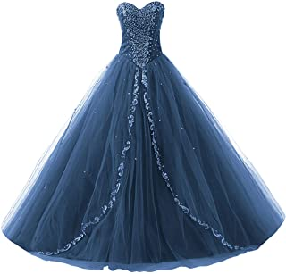 Wedding Sweetheart Long Quinceanera Dresses Formal Prom Dresses Ball Gown