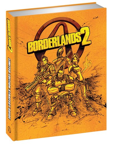 guidebooks 2 Borderlands 2 Limited Edition Strategy Guide
