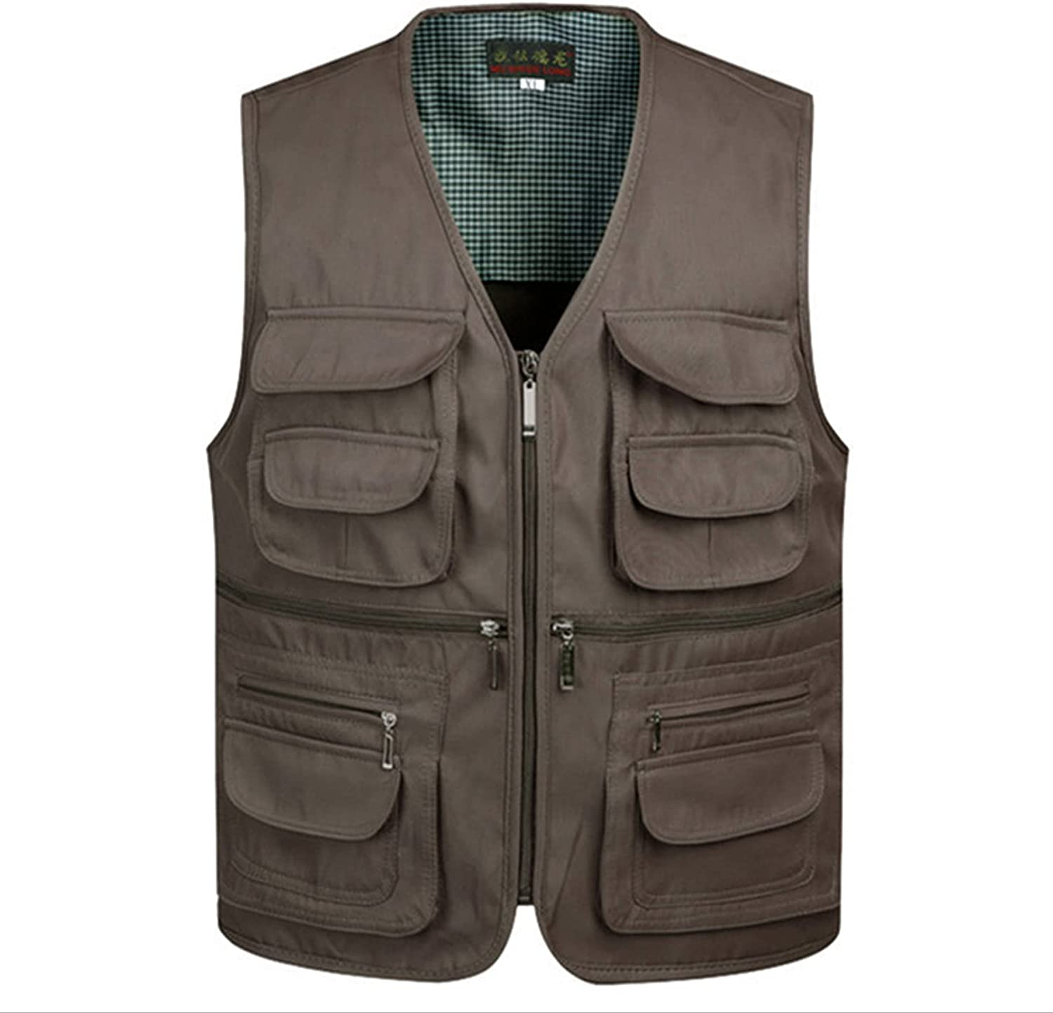 Fishing Mens Vest Shipping included Tactical Golf New products, world's highest quality popular! Runing Safari Hunting with Hidde