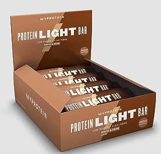 マイプロテイン プロテイン ライトバー 65g×12本入り クッキー & クリーム味