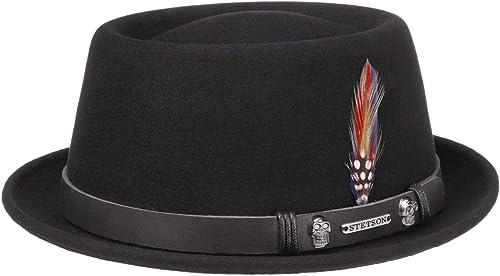 Stetson Sombrero Pennsylvania Woolfelt Mujer/Hombre - de Hombre Fieltro Outdoor con Banda Piel Verano/Invierno