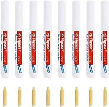Witte Grout Pen, 8 Stuks Tegel Grout Pennen Wit, Waterdichte Grout Reparatie Pennen Restorer Marker Pennen voor Muur Floor...