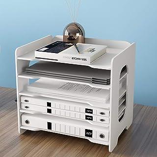 LHChan Desk Organizer with 5 Tier,Office Desktop Organizer for File Holder/A4 Paper/Ducument/Notebook,Office File Organize...