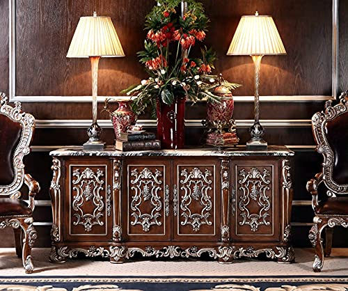 Wan Xing,Marble sideboards, Meal Preparation cabinets, high-end Restaurant sideboards, Living Room sideboards, Decorative cabinets, French Style Luxury Furniture Professional Customization