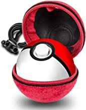 Case Compatible with Pokeball Plus, PokeballPlus Case Cover for Nitendo Switch Accessories Pokeball, Red, by Oritys.