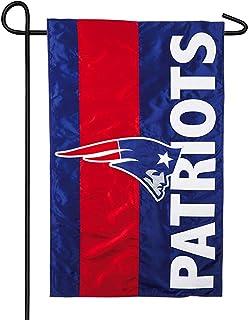 YEATRY Team Sports America Patriotas De Nueva Inglaterra Embellecen La Bandera del Jardín 30 X 45 Cm