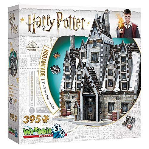 Wrebbit 3D Harry Potter Hogsmeade: The Three Broomsticks Jigsaw Puzzle - 395 Pieces