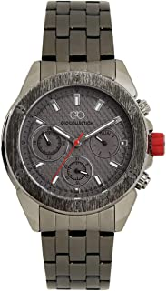 Gio Collection Analog Grey Dial Men's Watch - G1001-44