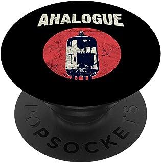 Amp Vacuum Tubo Audiophile Analógico Sintetizador PopSockets PopGrip: Agarre intercambiable para Teléfonos y Tabletas