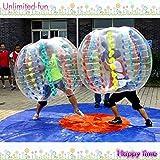 Yoli® Outdoor Sports Balls-Palline per bolle di sapone corpo Zorb Ball-Pallone da calcio in Hamster Diametro sfera, 1,2 m, altezza 1,20 Meters