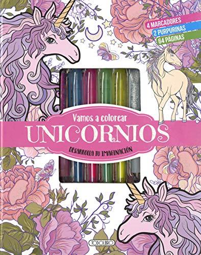 Vamos a colorear unicornios