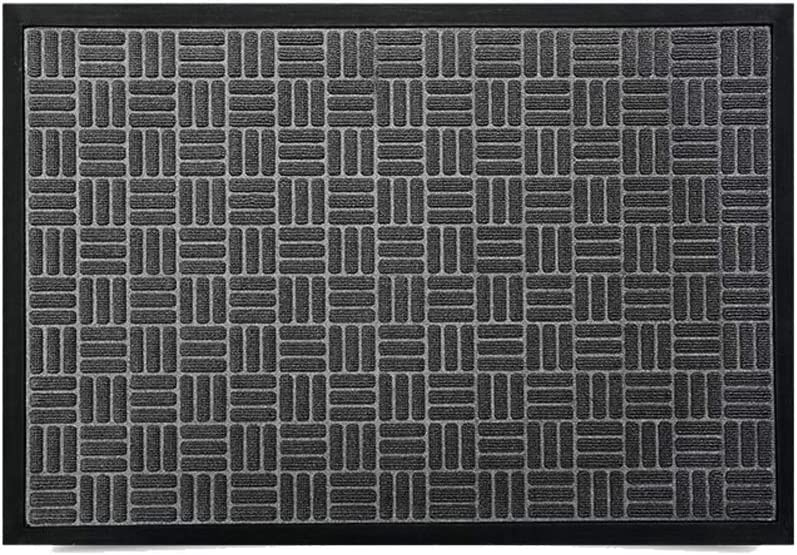 Low Now free shipping Max 89% OFF Profile Rubber Door Mat Durable and Outdo for Indoor Doormat