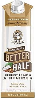 Best califia farms almondmilk coffee creamer Reviews