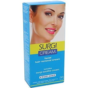 Amazon Com Surgi Cream Hair Remover For Face 1 Ounce Tubes