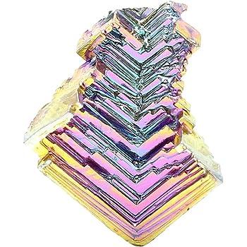 Vosarea ワイヤラッピングウィッカとレイキ結晶治癒(2-3センチ(ランダムパターン)を収集するためのビスマス検体結晶石