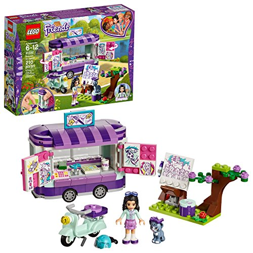 LEGO Friends Emma's Art Stand 41332 ...