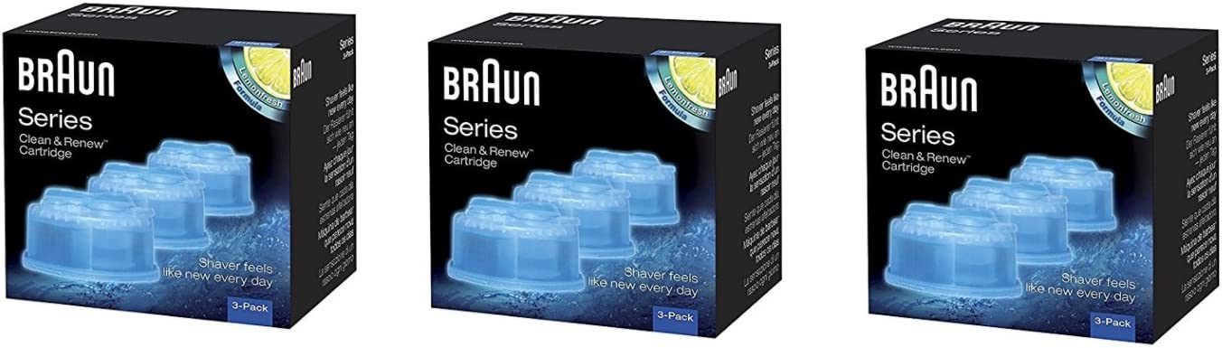 Braun Clean OFFicial shop and Renew Cartridge Refill Cleaner Cl Replacement Colorado Springs Mall