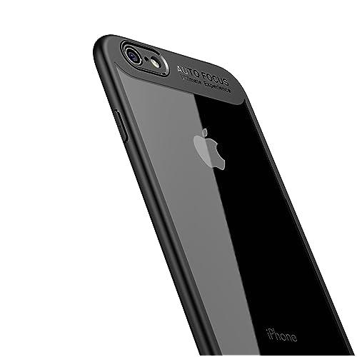 d828ef2ded iPhone6s ケース iPhone6 ケース LAYJOY アイフォン6s/6カバー バンパー 透明 ハード PC +ソフト