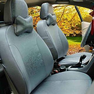 JKHOIUH Protector universal de cinturón de seguridad de fibra: el mejor protector antideslizante for asientos de automóvil: perfecto for Volkswagen Kia Hyundai General Motors Cubierta de asiento de au