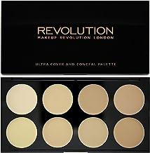 Makeup Revolution London Ultra Cover and Concealer Palette Light, 10g
