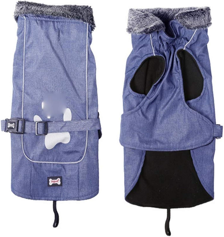 Dog Thick Jacket, Winter Warm Pet Waterproof ClothingA L
