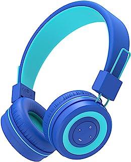 iClever Bluetooth Children Headphones, Koptelefoons voor kinderen met MIC, Volume Administable hoofdband, Vodable, Childre...