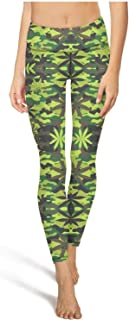 3cb845fa91 Camouflage Texture Women's Camo Yoga Pants Ultrasoft Workout Tights Girls