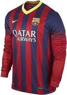 Nike Barcelona Home Mens Jersey L/S