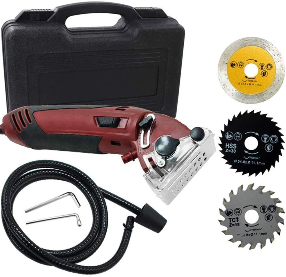 Super popular specialty store ETE ETMATE Max 43% OFF Mini Circular Saw 400W Powered High Set