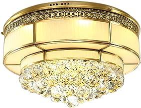 E27X4 all bronze Ceiling lights crystal Light European style Copper lamp Lighting LED 80 * 25cm ( Size : 80*25cm )