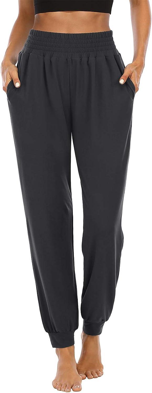 ZJCT Directly managed store Womens Sweatpants half Comfy Loose High Lounge Pants Wai Pajamas