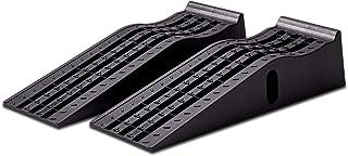 Cartrend 10639 Juego de rampas de Entrada para automóviles, 3 toneladas, hasta 235 mm, elevadora para vehículos, Plataform...