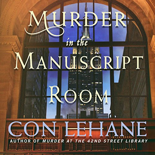 Murder in the Manuscript Room audiobook cover art