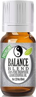 Balance Essential Oil Blend - 100% Pure Therapeutic Grade Balance Blend Oil - 10ml