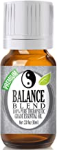 Balance Essential Oil Blend - 100% Pure Therapeutic Grade Balance Blend Oil - 10ml