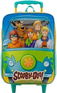 Mala Com Rodas 16 Scooby-Doo Mystery Machine - 8880 - Artigo Escolar Scooby-Doo, Laranja