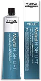 LOreal Paris Majirel High Lift - HL Violet by LOreal Professional for Unisex - 1.7 oz Hair Color, 50 ml