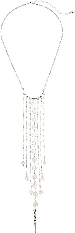 Chan Luu - Mystic Clear Chalcedony Fringe Necklace
