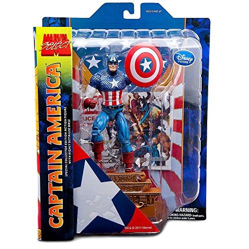 Marvel Marvel Select Captain America Action Figure