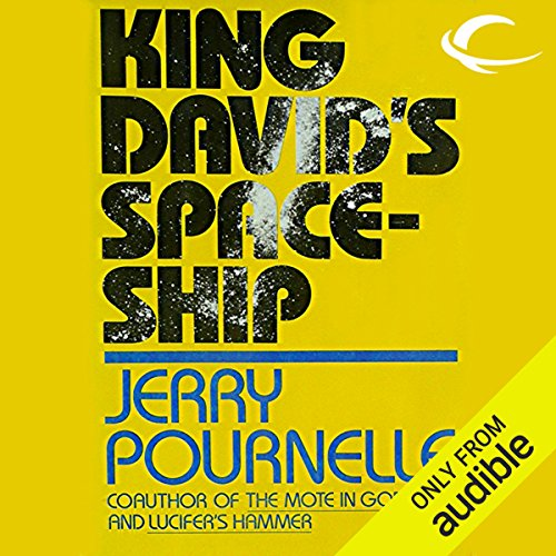 King David's Spaceship audiobook cover art