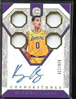 Kyle Kuzma 2018-19 Panini Cornerstones Cornerstones #33 Mint /129 Basketball Lakers NBA