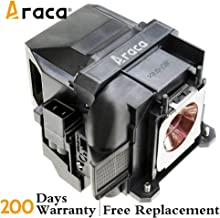 ELPLP78 /V13H010L78 Projector Lamp with Housing for Epson EX7230 EX5220 EX7235 VS230 EX7220 EX3220 TW5200 1262W TW410 EX5230 VS335W EX6220 VS330 EB-S18 EH-TW5200 EH-TW410 Home Cinema 2000 2030 X17