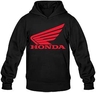 Greenday Men's Hood Honda Two Wheeles Logo Black