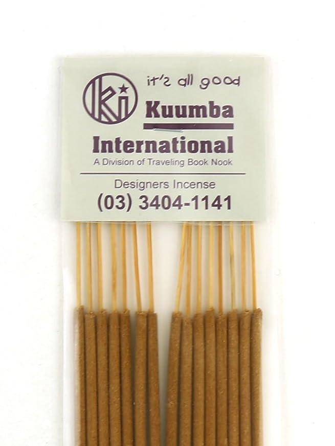 ピーブ偽物依存する(クンバ) Kuumbaスティックインセンスお香レギュラーサイズA(15本入り)RG-INCENSE?358
